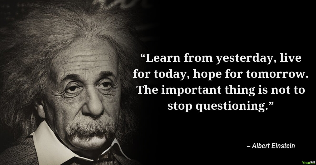 Albert Einstein Quotes on Learning