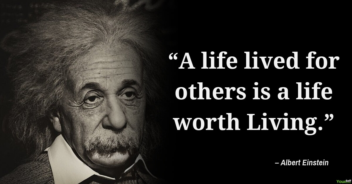 Albert Einstein Quotes on Life With Images