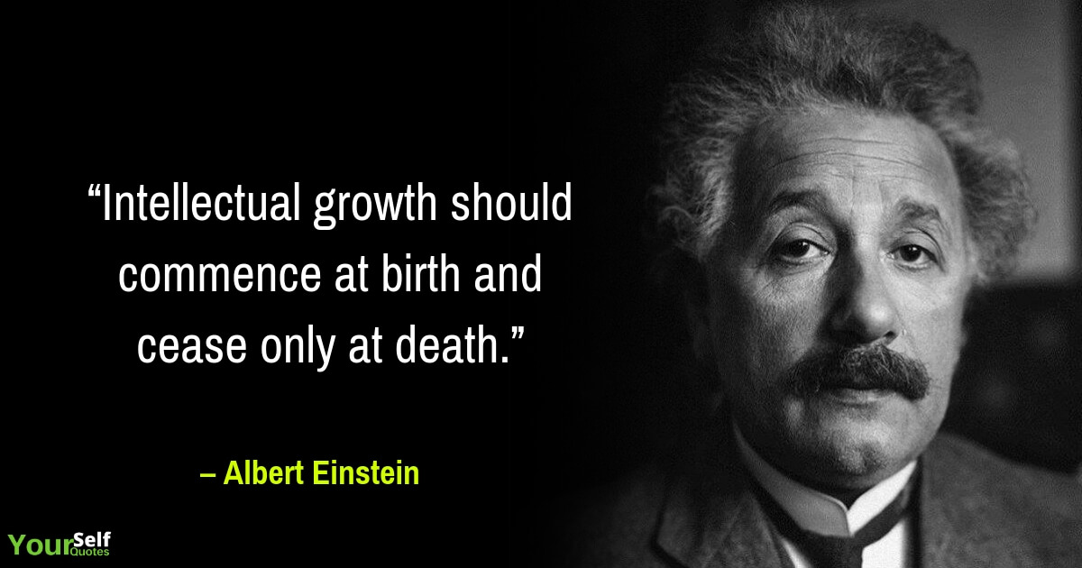 Albert Einstein Thoughts Quotes