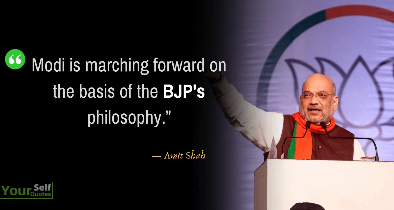 AmitShah Quotes Images