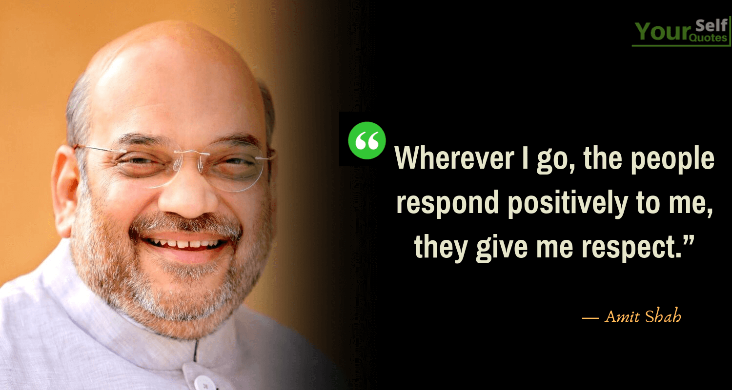 Amit Shah Quotes Image