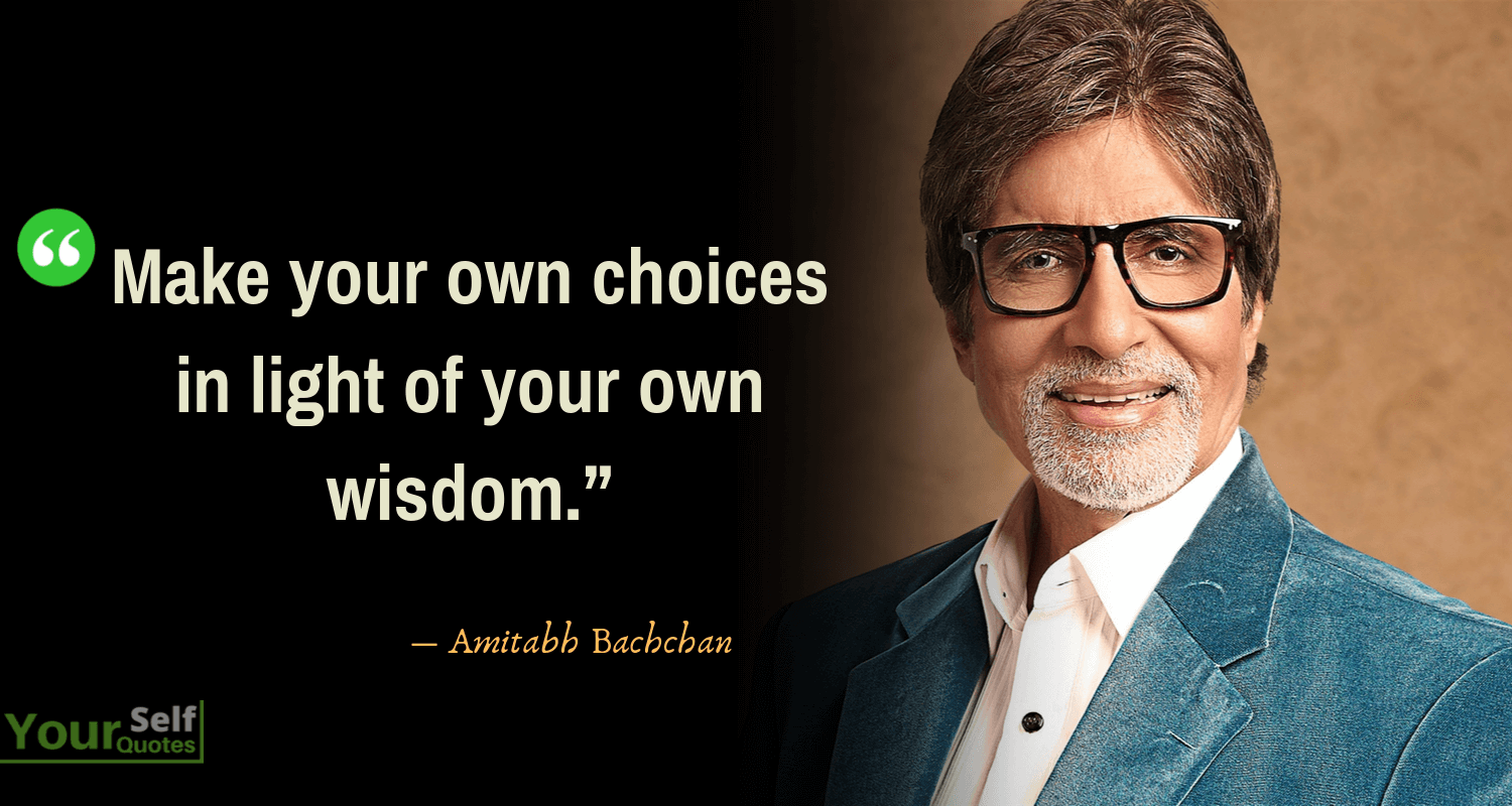 Amitabh Bachchan Quote