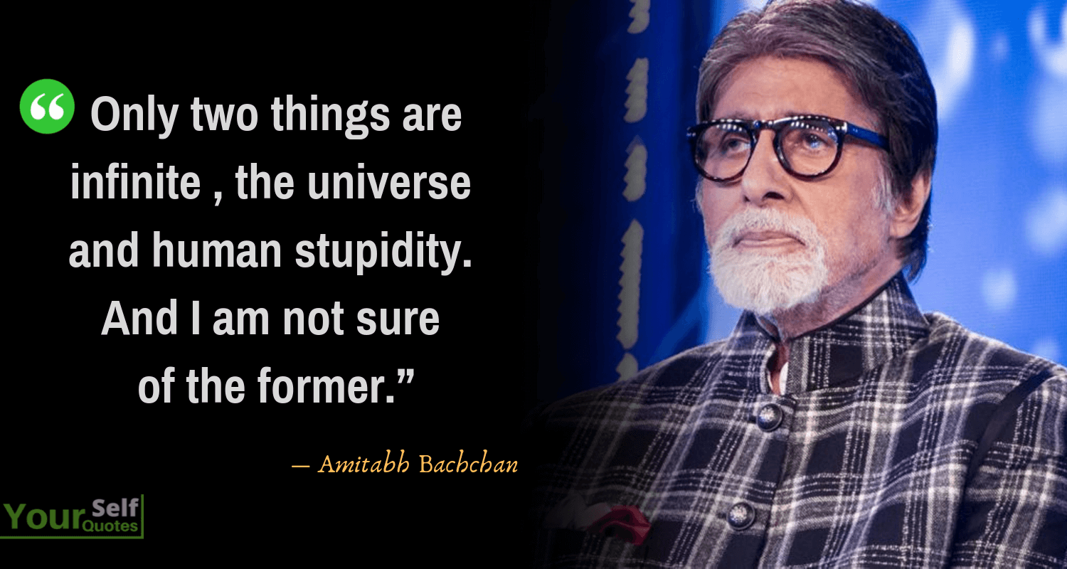 Quote AmitabhBachchan