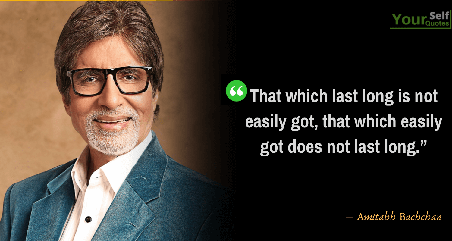 Amitabh Bachchan Quotes Photos