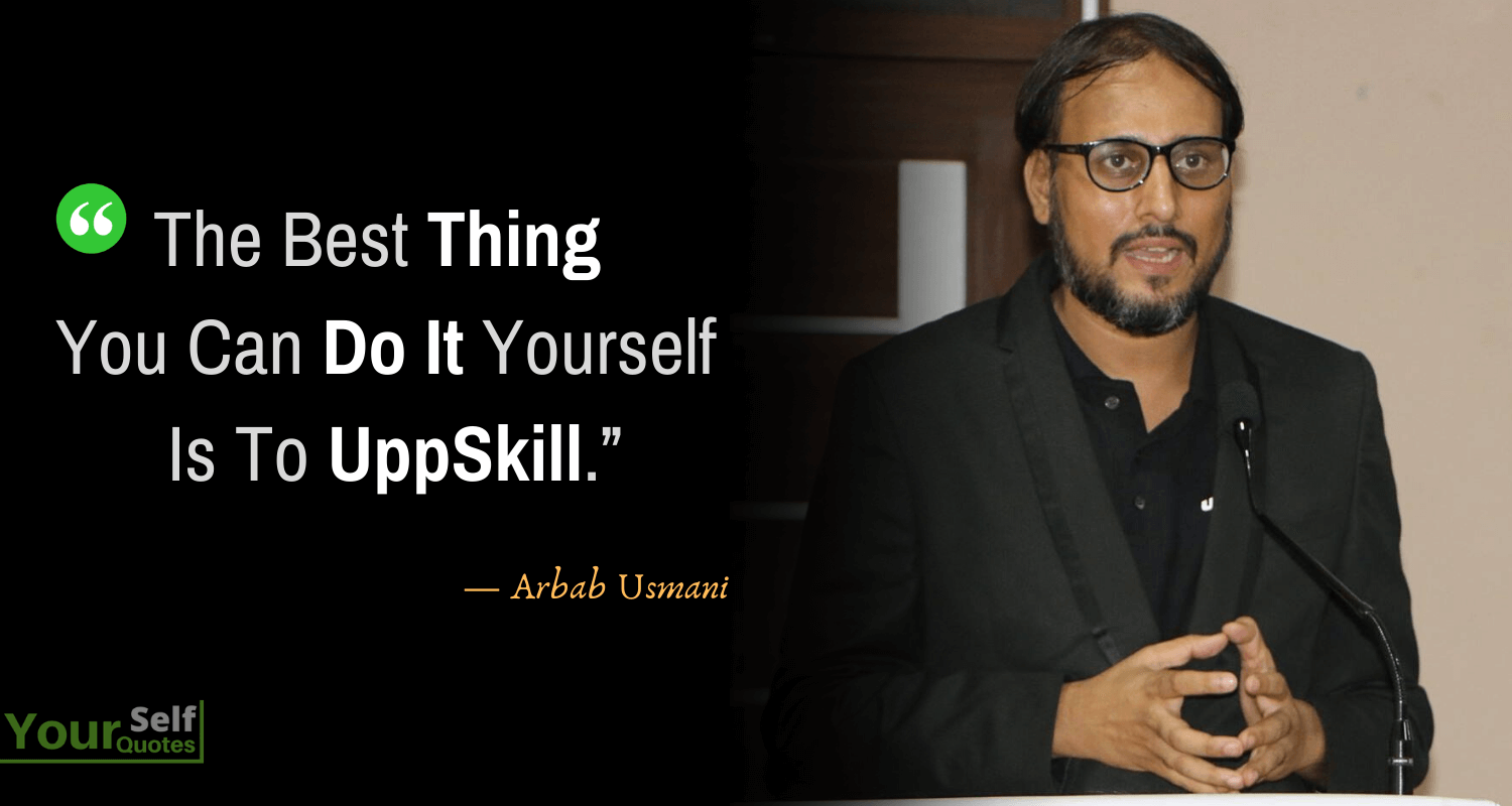 Quotes by Arbab Usmani