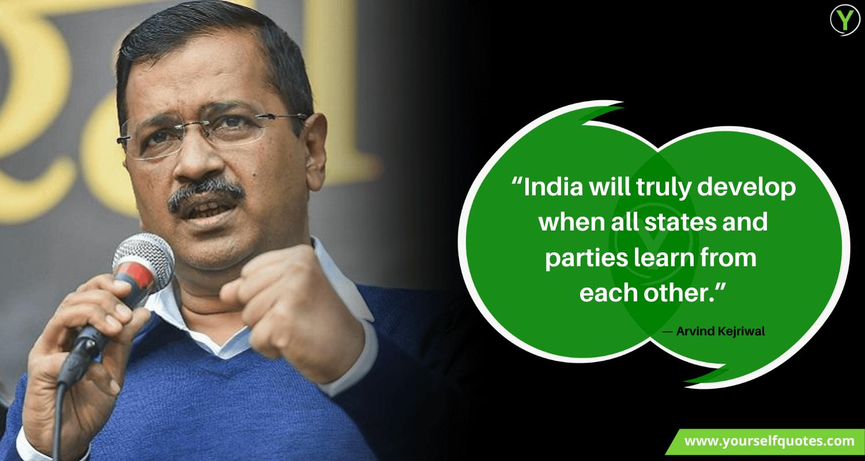 Arvind Kejriwal Quotes Sayings
