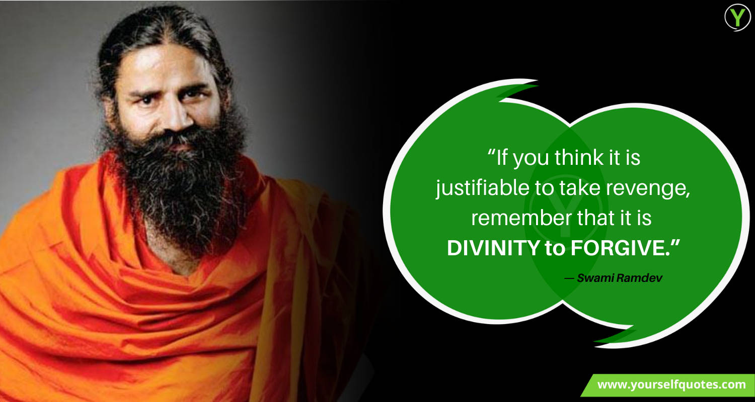 Baba Ramdev Best Quotes