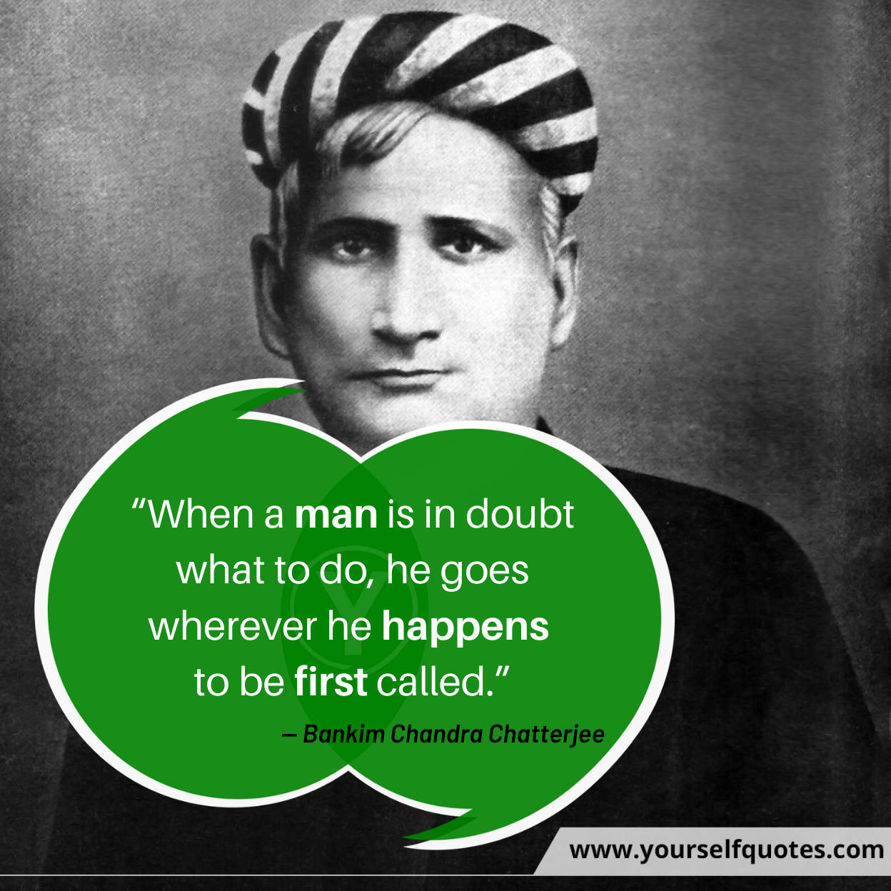 Bankim Chandra Chatterjee Quotes Images
