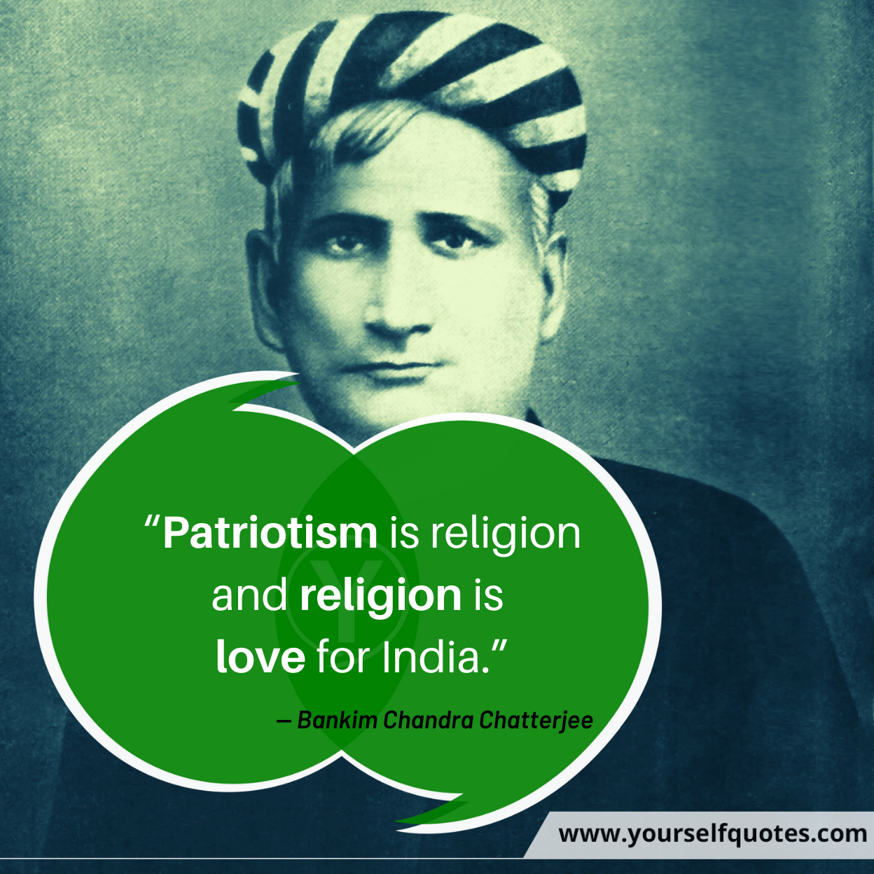 Bankim Chandra Chatterjee Quotes Wallpaper