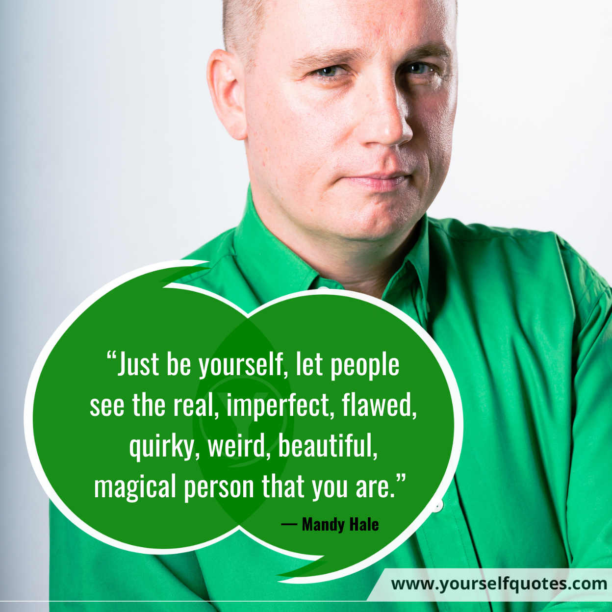 Be Yourself Quotes oleh Mandy Hale