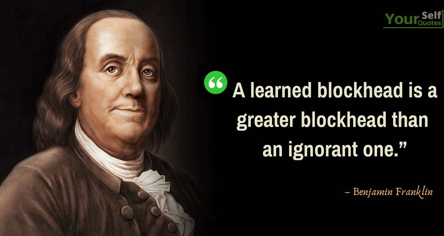 Top Benjamin Franklin Quotes