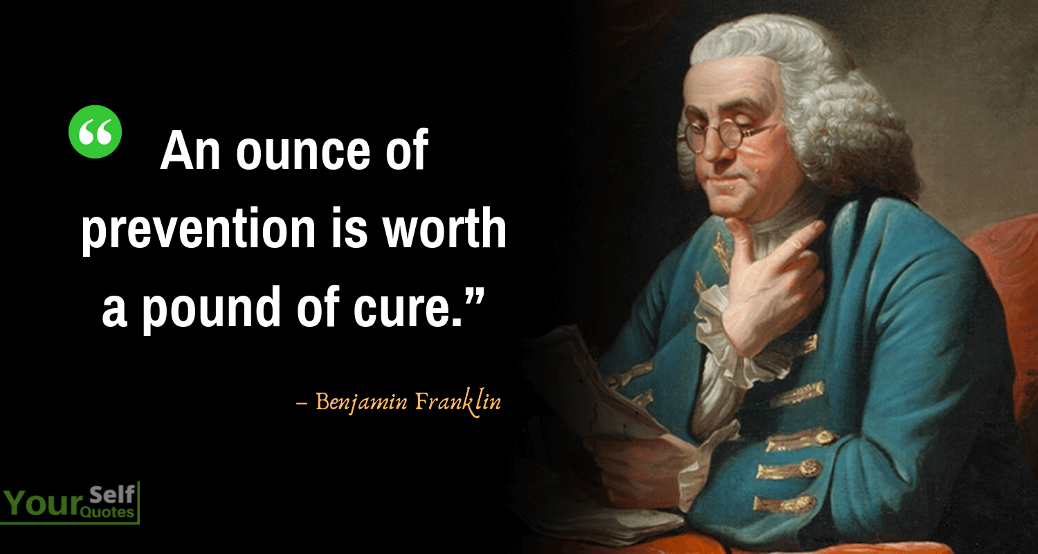 Benjamin Franklin Images Quotes