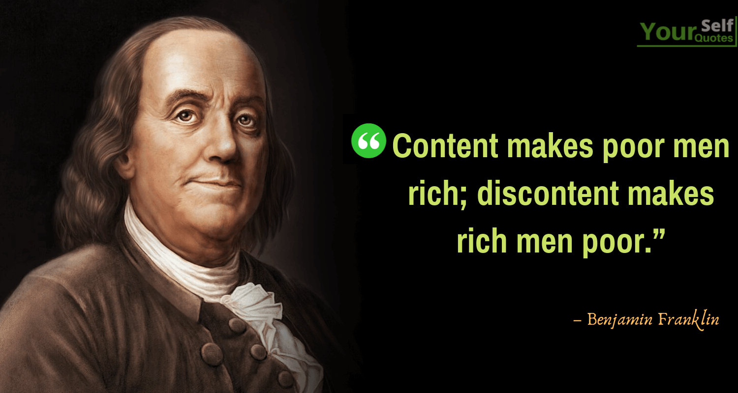 Famous Benjamin Franklin Quotes