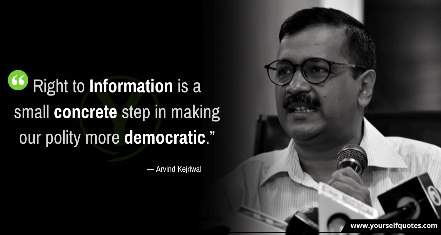 Best Arvind Kejriwal Quotes Images