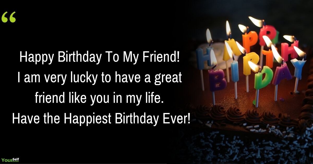 Best Birthday Wishes Messages For Friends
