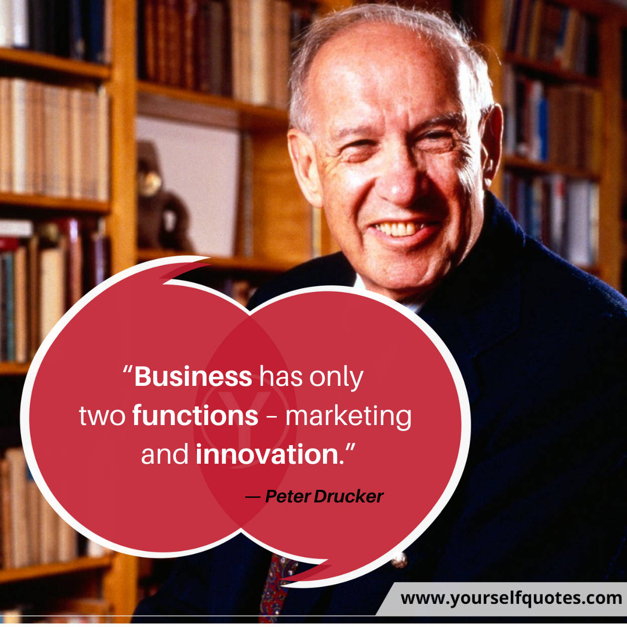 Best Business Quotes by Peter Drucker