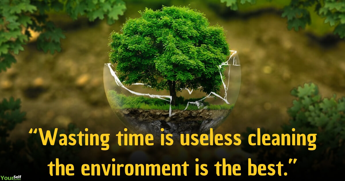 Best Environment Quotes images