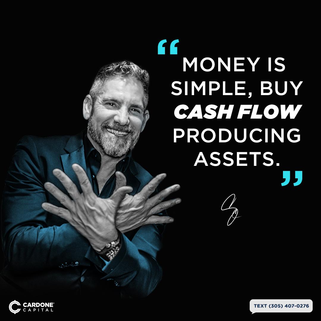 Cash Flow Quotes by Grant Cardone