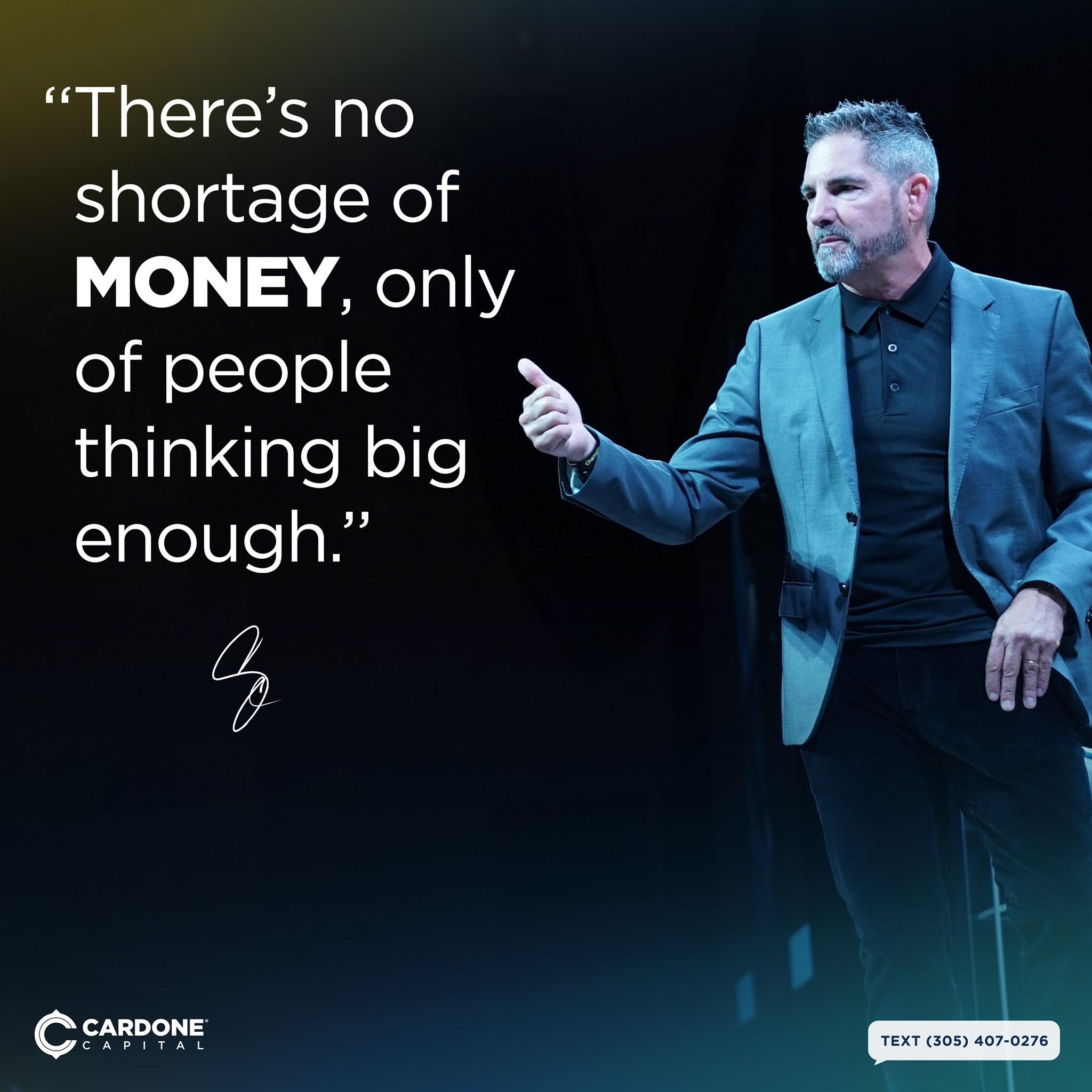 Grant Cardone Money Quotes