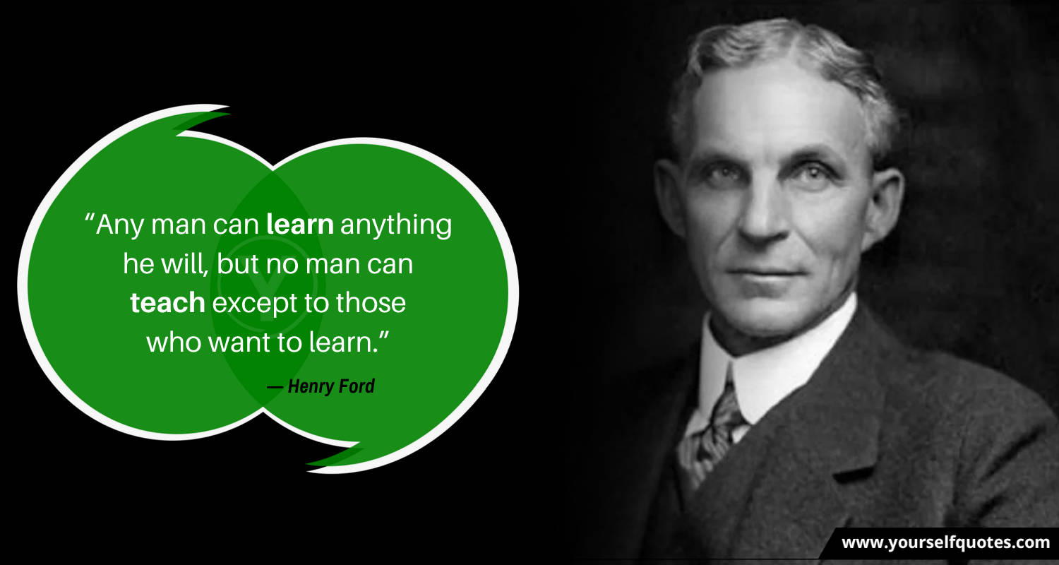 Best Henry Ford Quotes Wallpaper