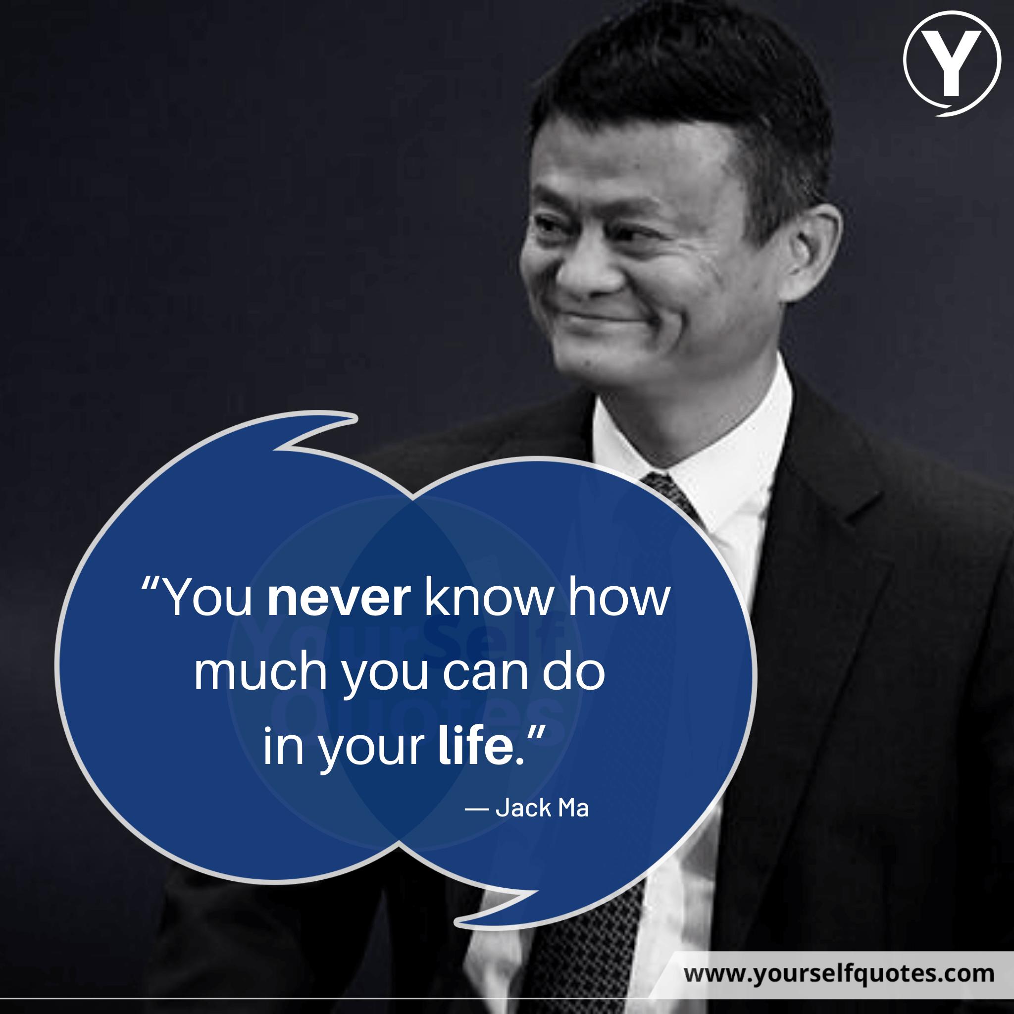 Kutipan Terbaik Jack Ma Life