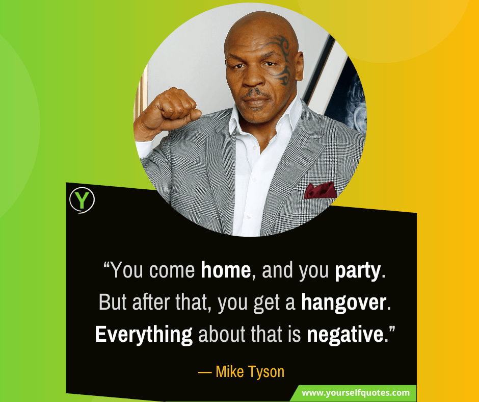 Best Mike Tyson Quotes Images