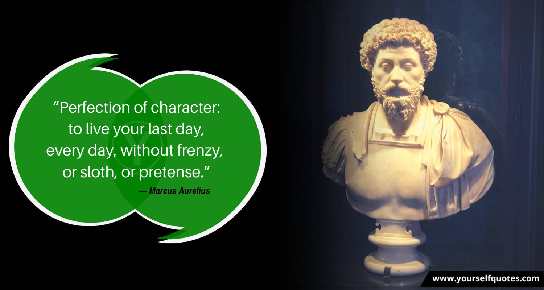 Best Quotes by Marcus Aurelius