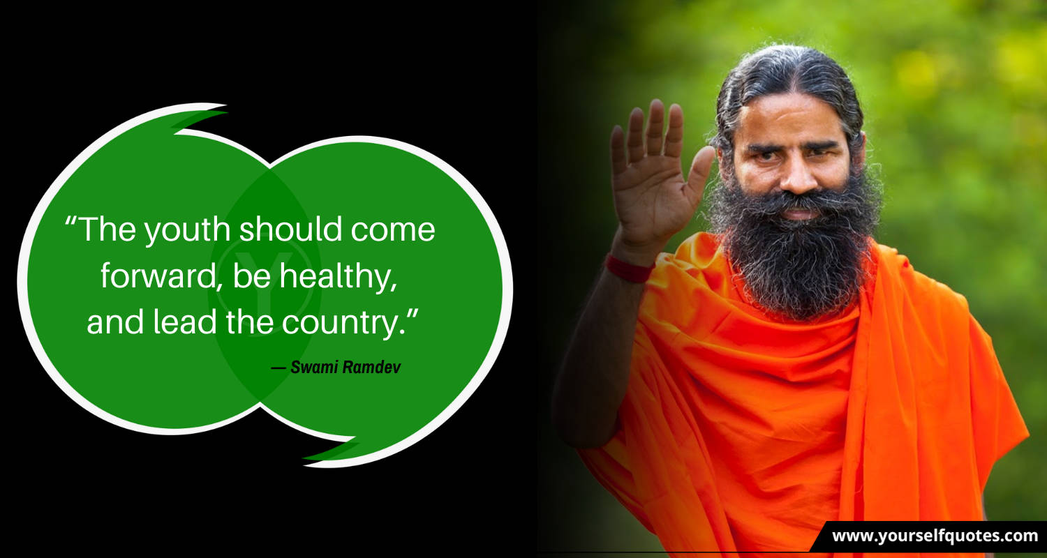 Best Ramdev Quotes Images