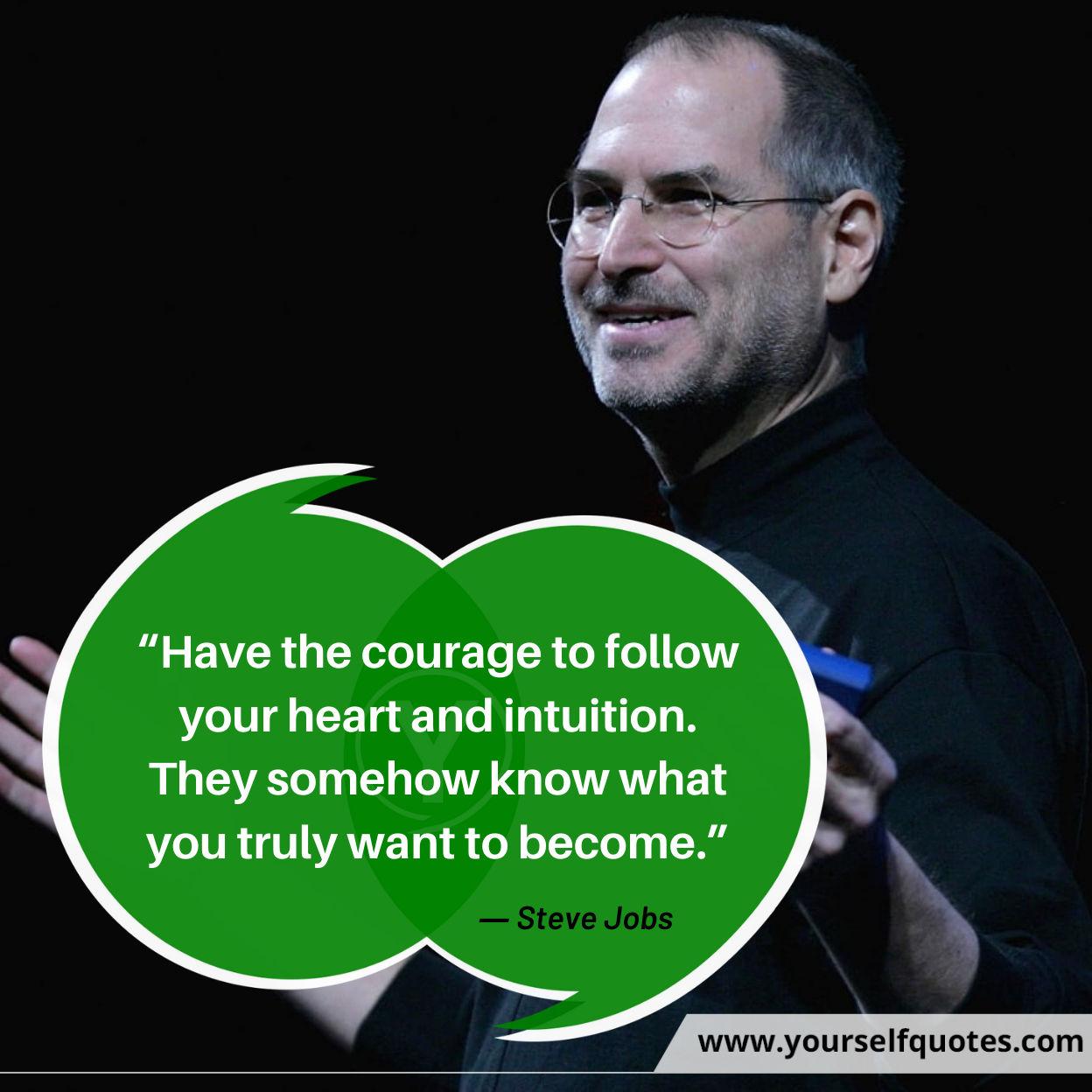 Best Steve Jobs Quotations Photos