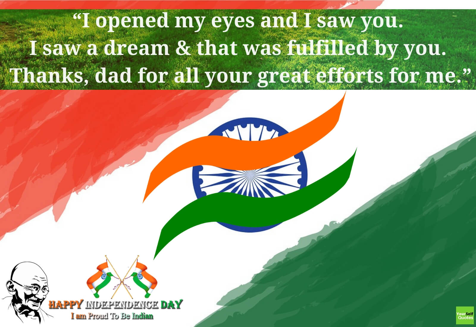 Best wishes for Independence Day