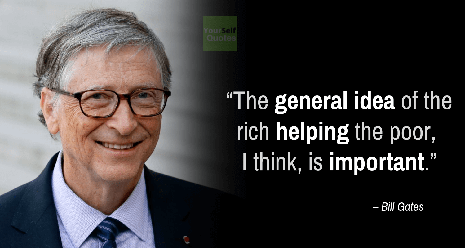 Bill Gates Status Quotes