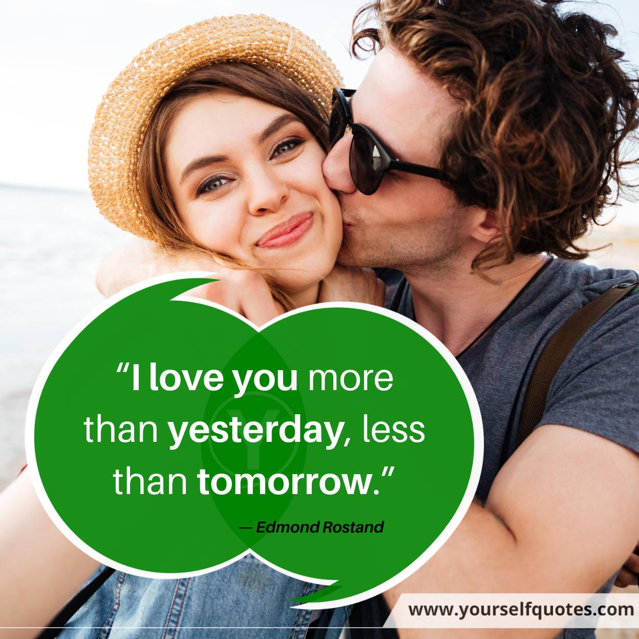 Boyfriend Quotes by Edmond Rostand