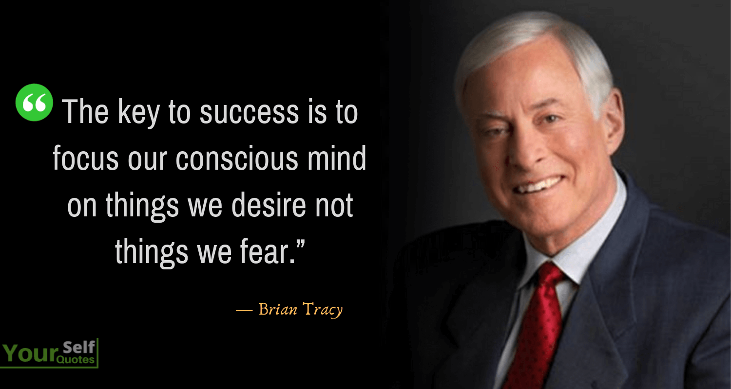 Brian Tracy Quotes on Success