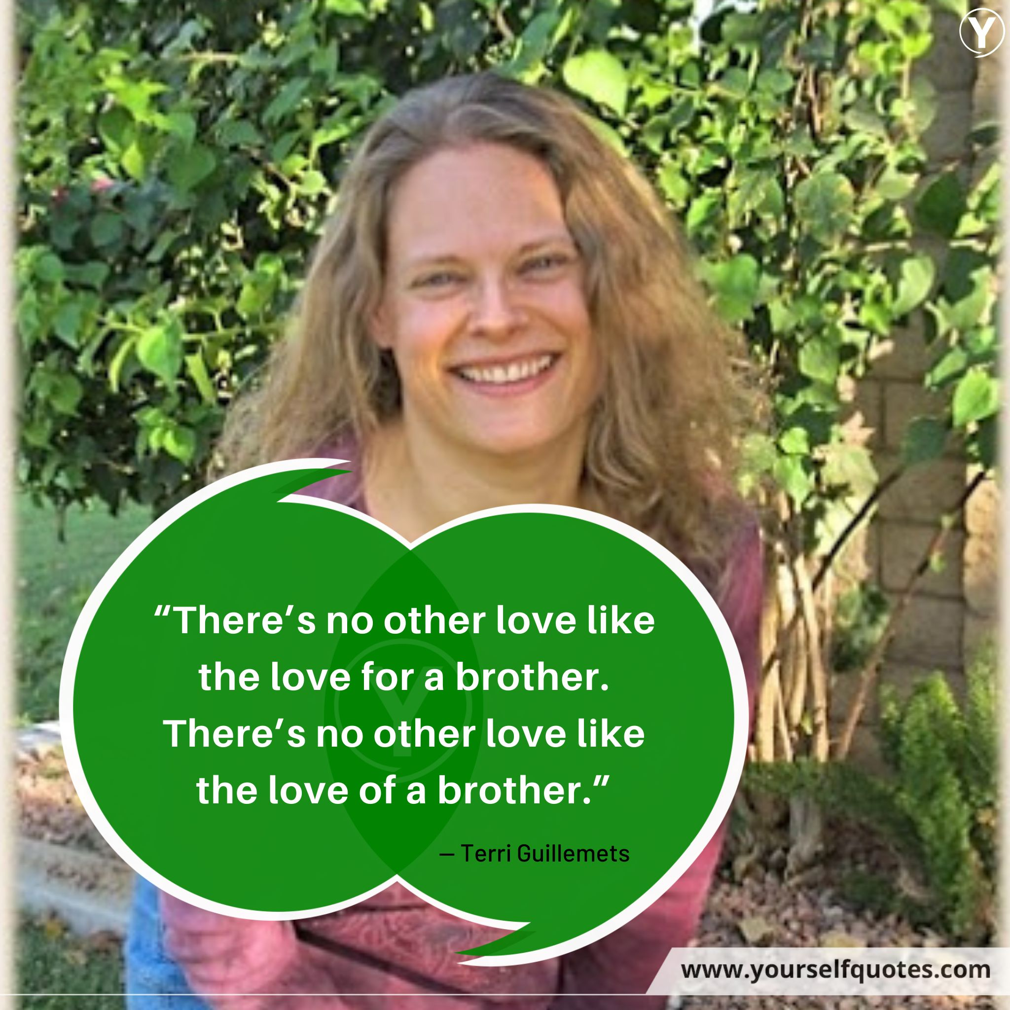 Brother Quotes by Terri Guillemets