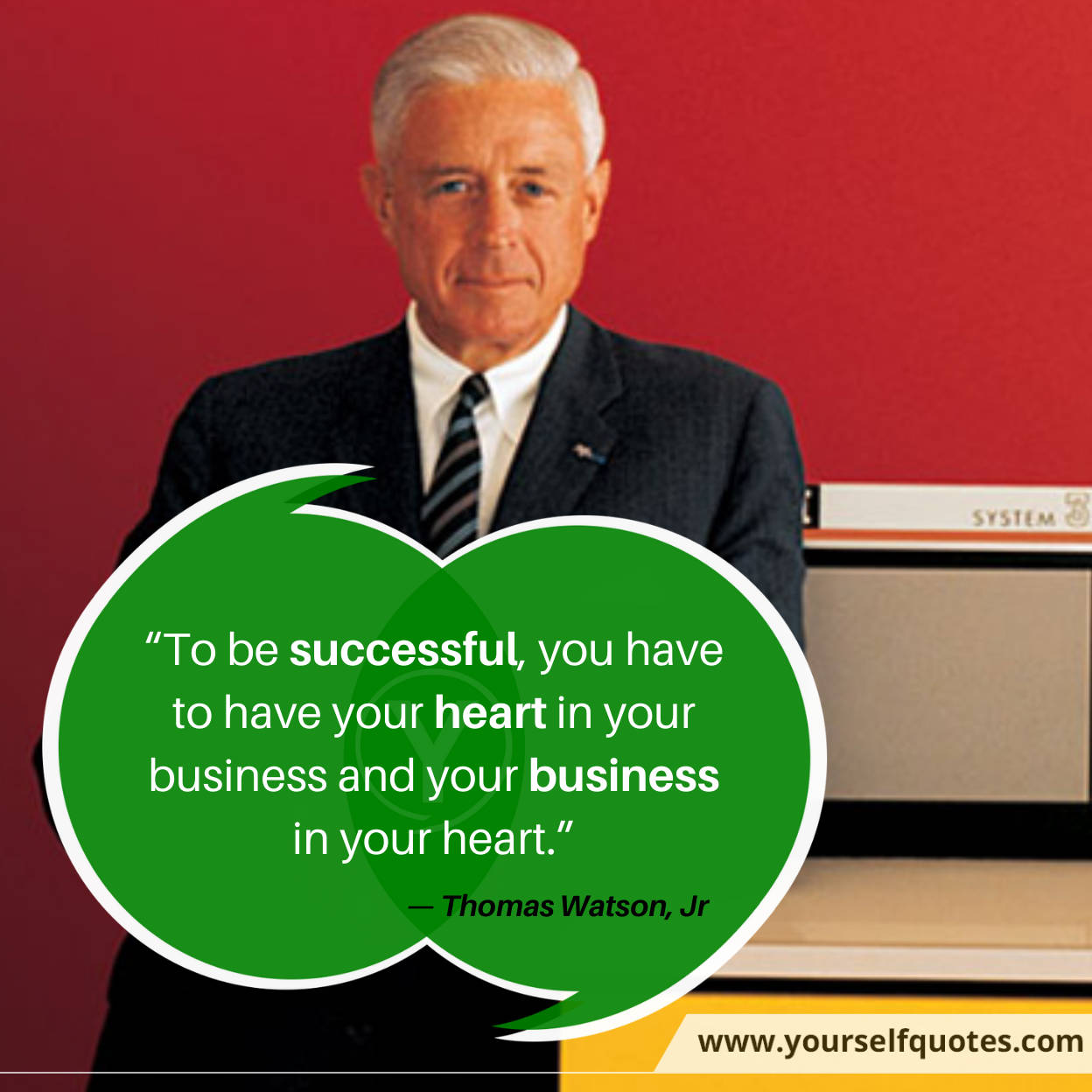 Business Quotes by Thomas Watson Jr