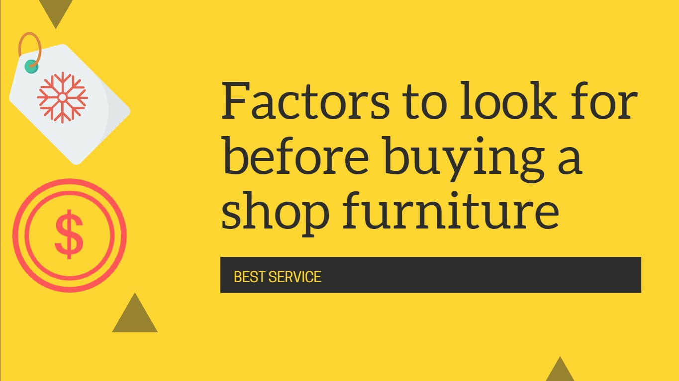 Buying a Furniture