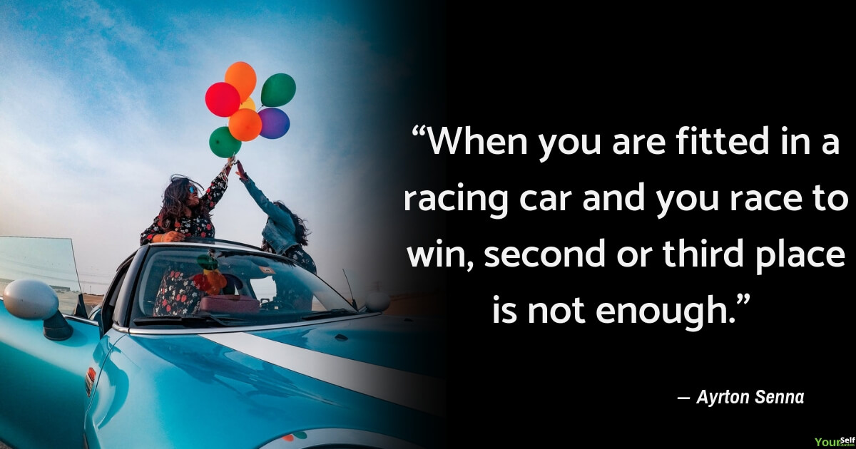 Car Quotes by Ayrton Senna