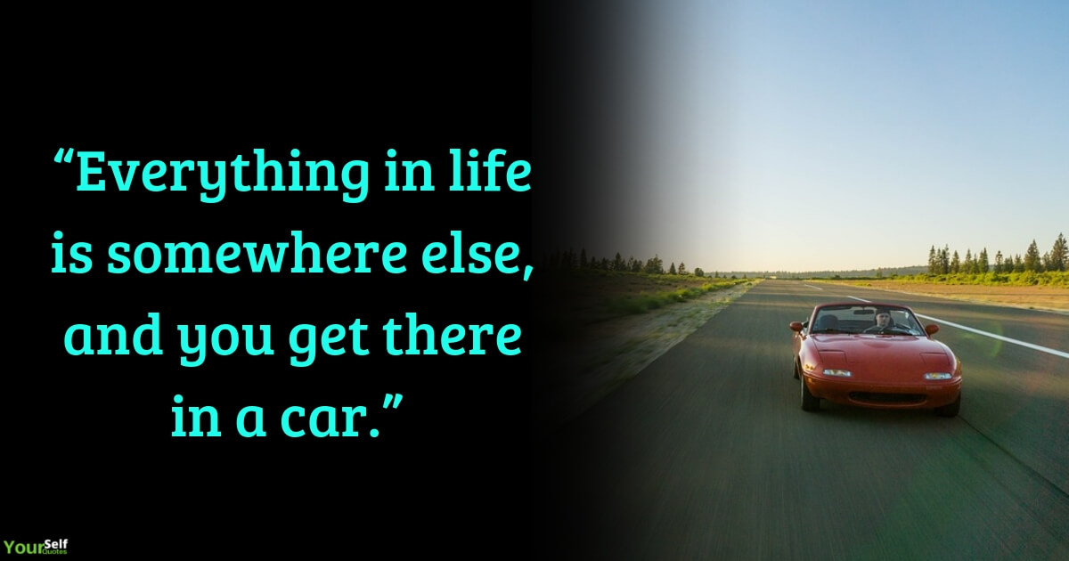 Car Quotes by E.B. White