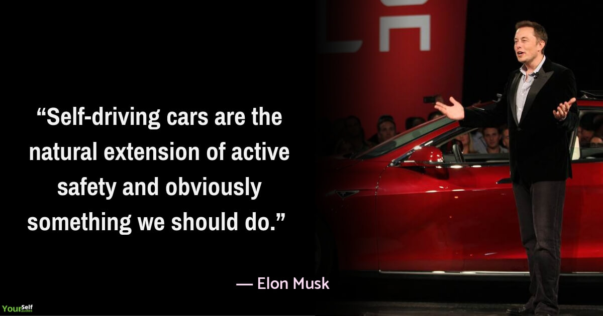 Car Quotes by Elon Musk