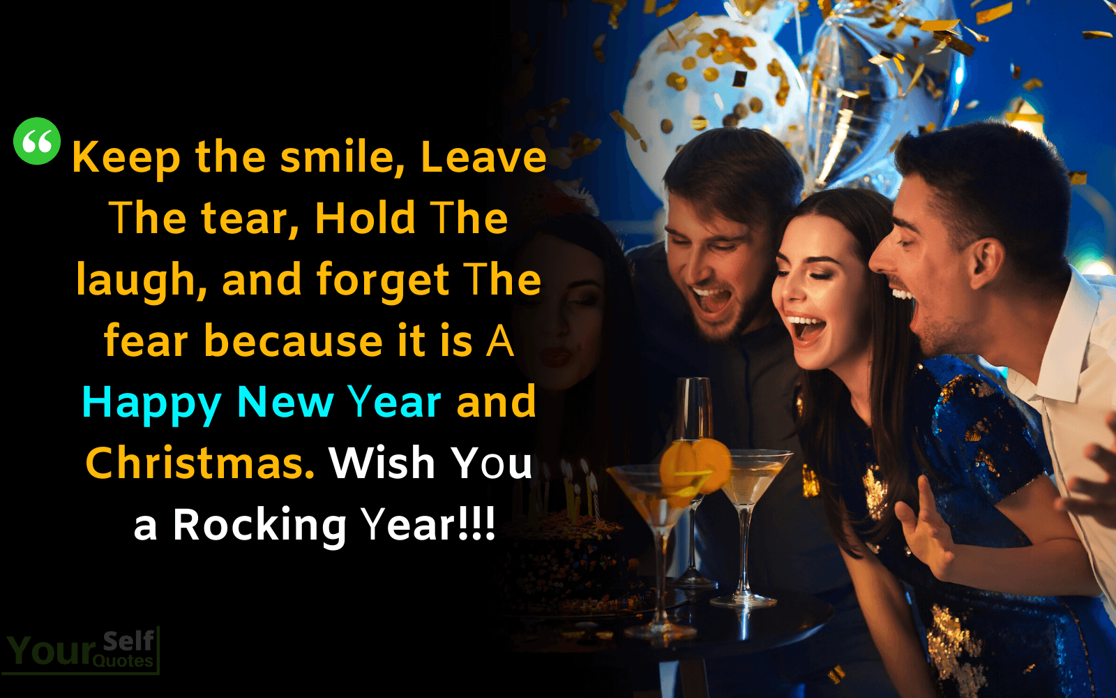 Christmas Wishes and Happy New Υear with Images wallpaper