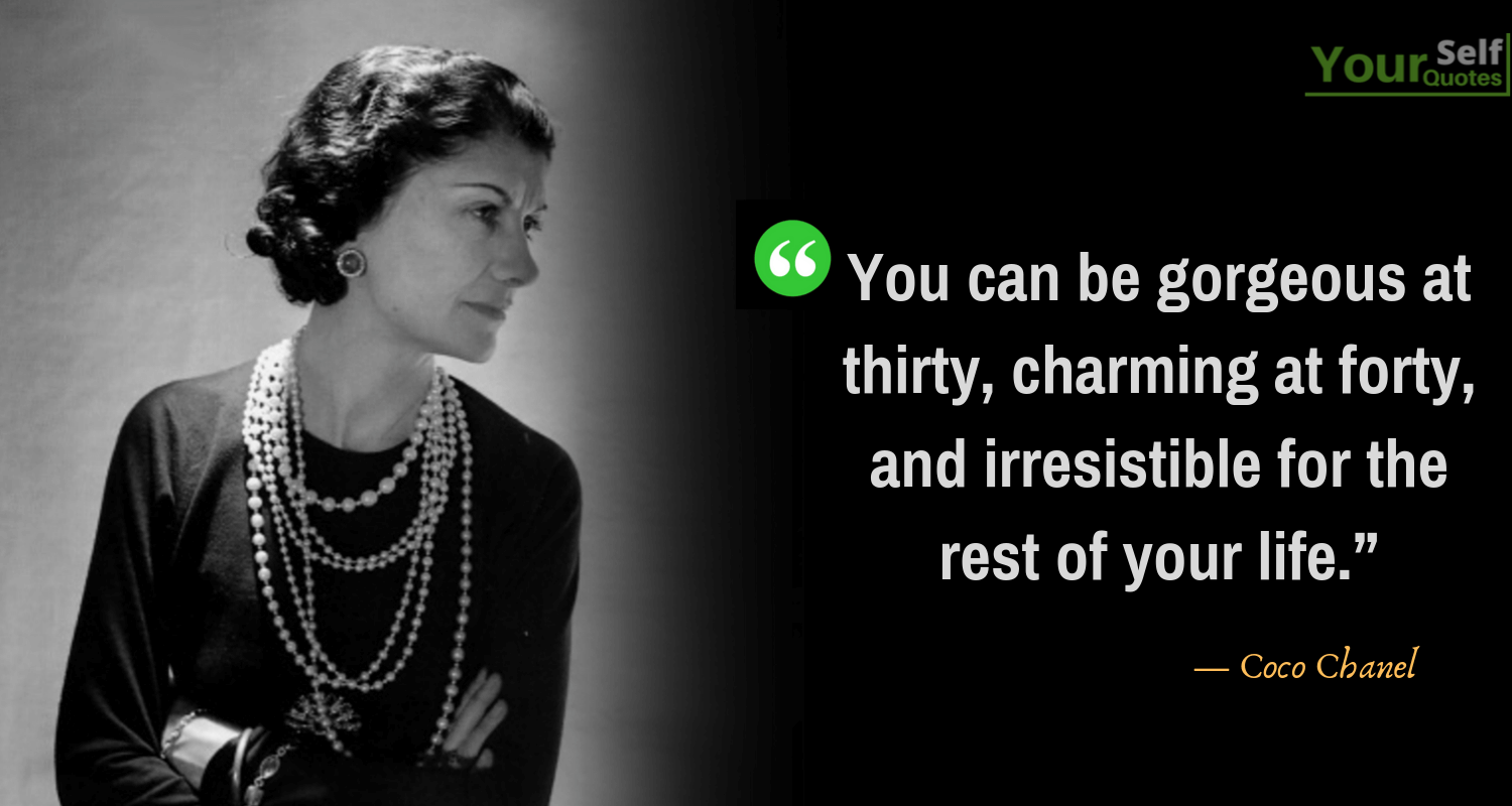 CocoChanel Quotes Images