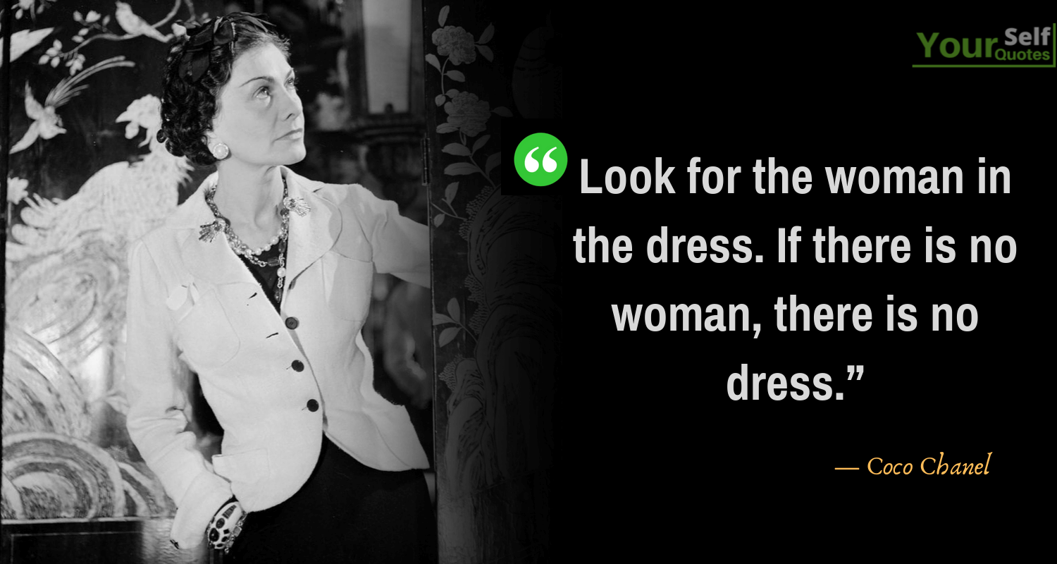 Coco Chanel Quotes Photos