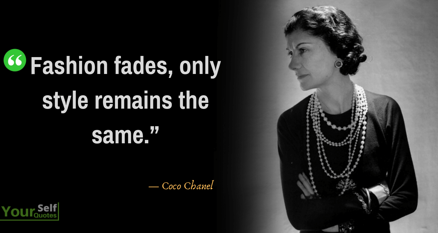 Top Coco Chanel Quotes