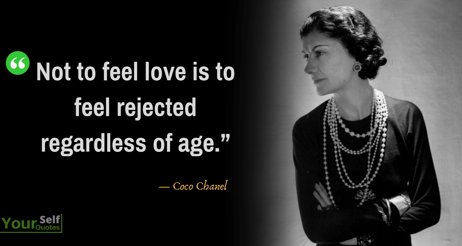 Coco Chanel Quotes on Love