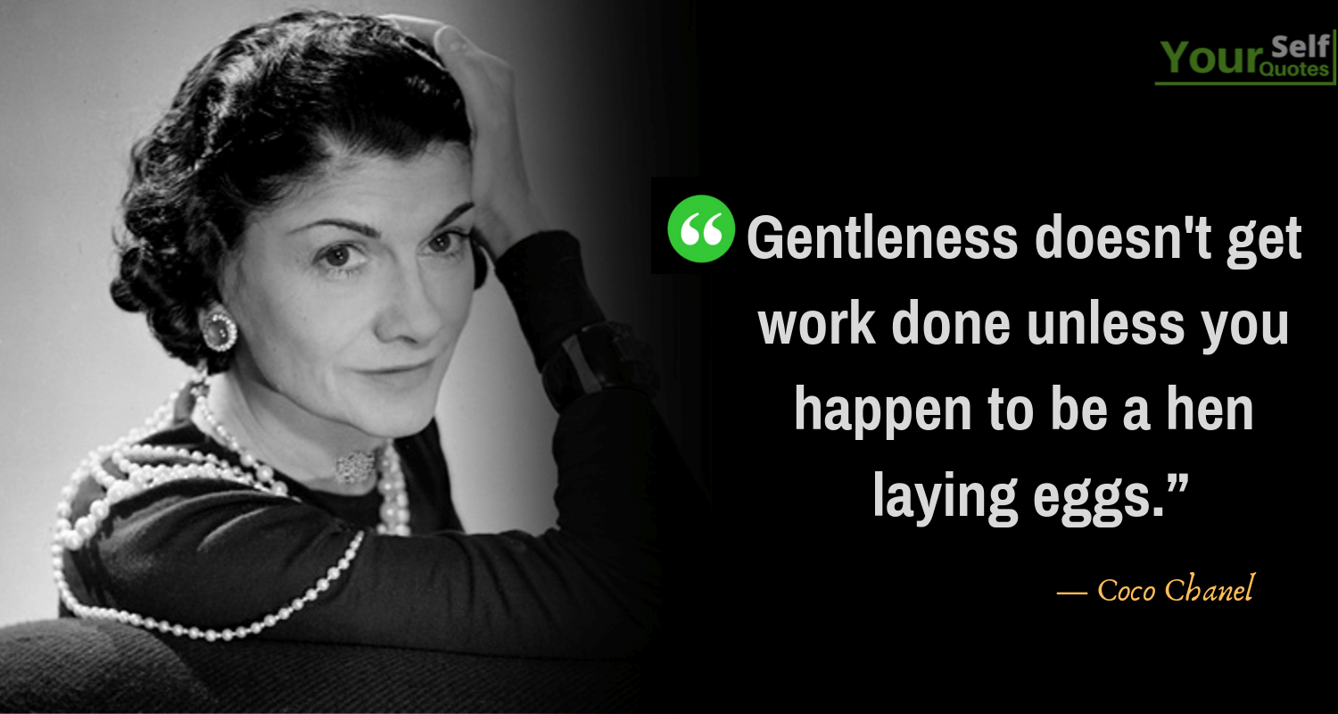 Coco Chanel Quotes Image