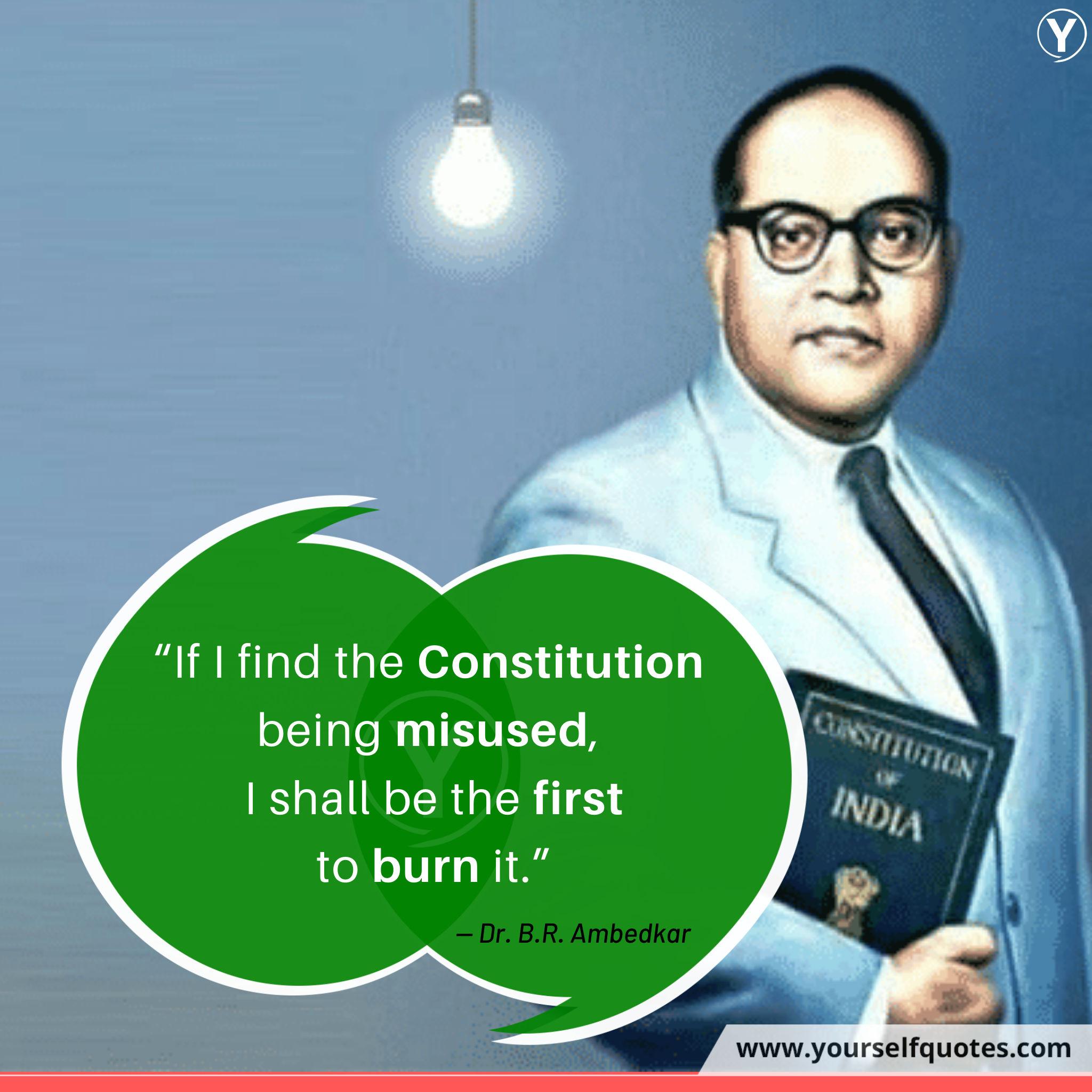 Kutipan Konstitusi oleh Babasaheb Ambedkar