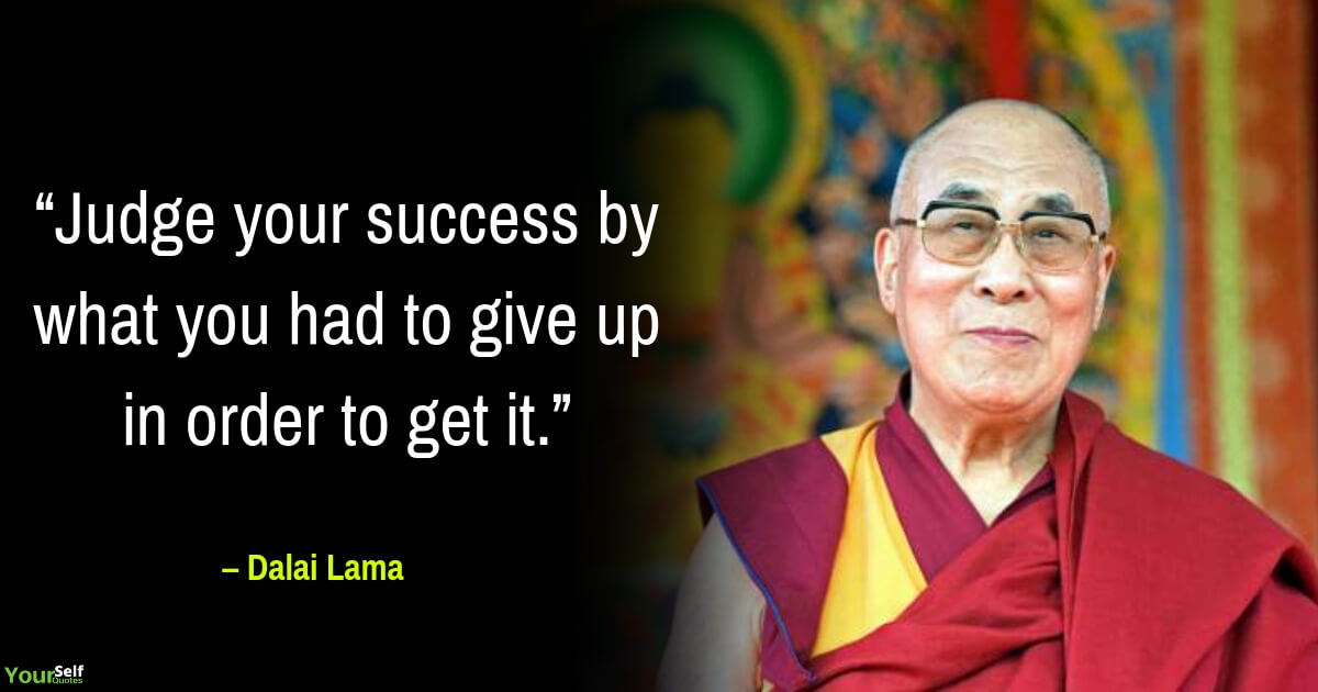 Dalai Lama Quotes on Success