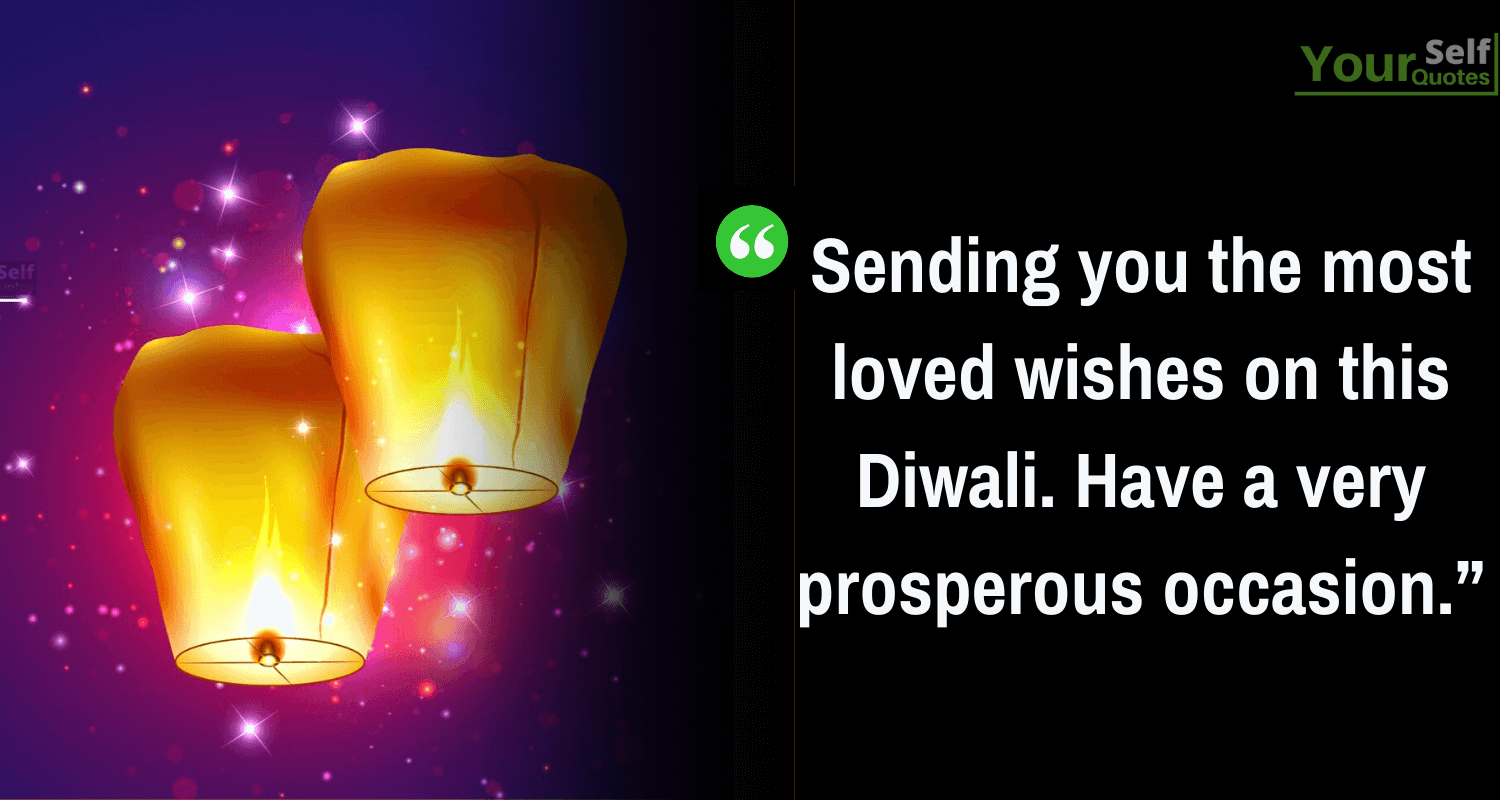 Deepavali Wishes for Love Ones