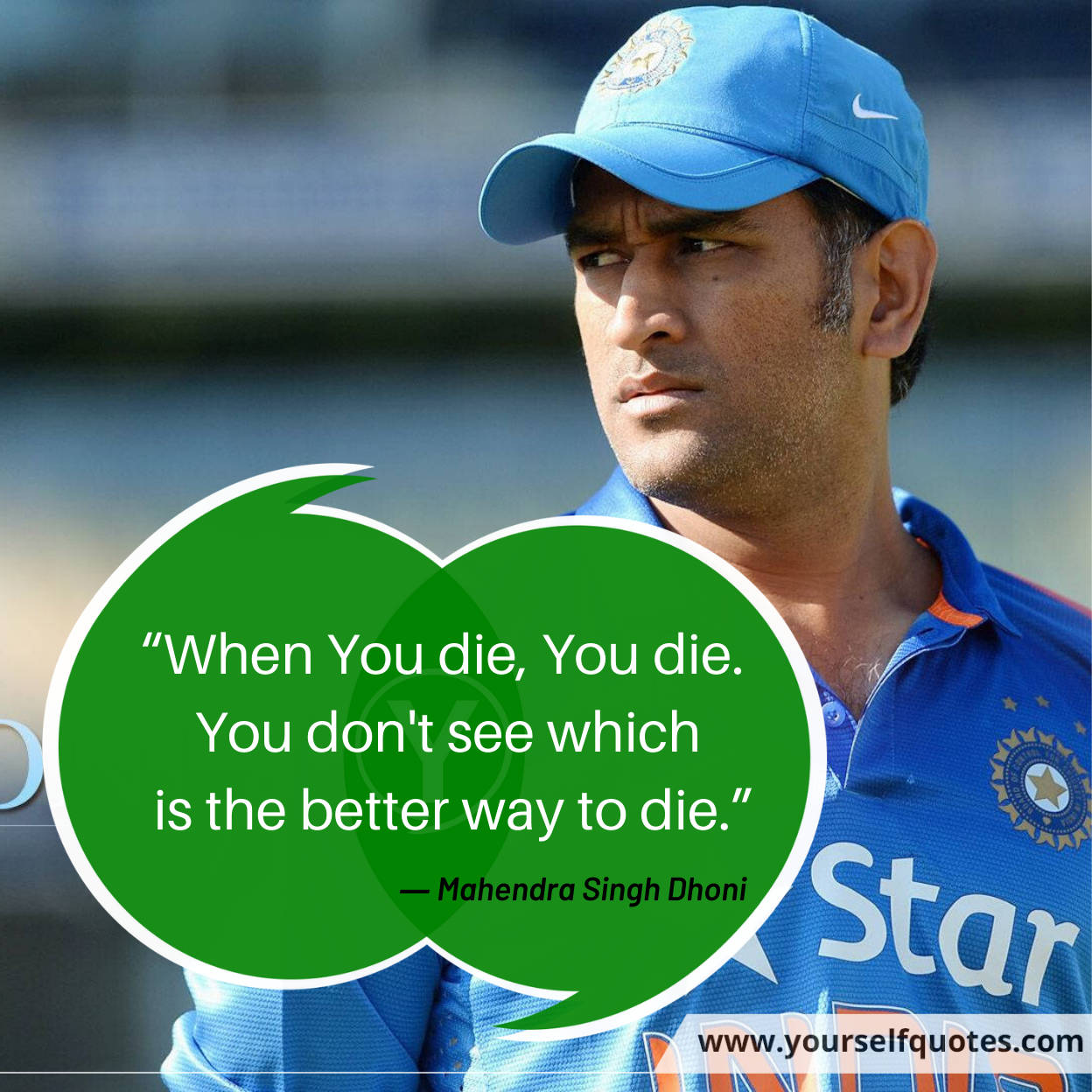 Dhoni Quotes Images