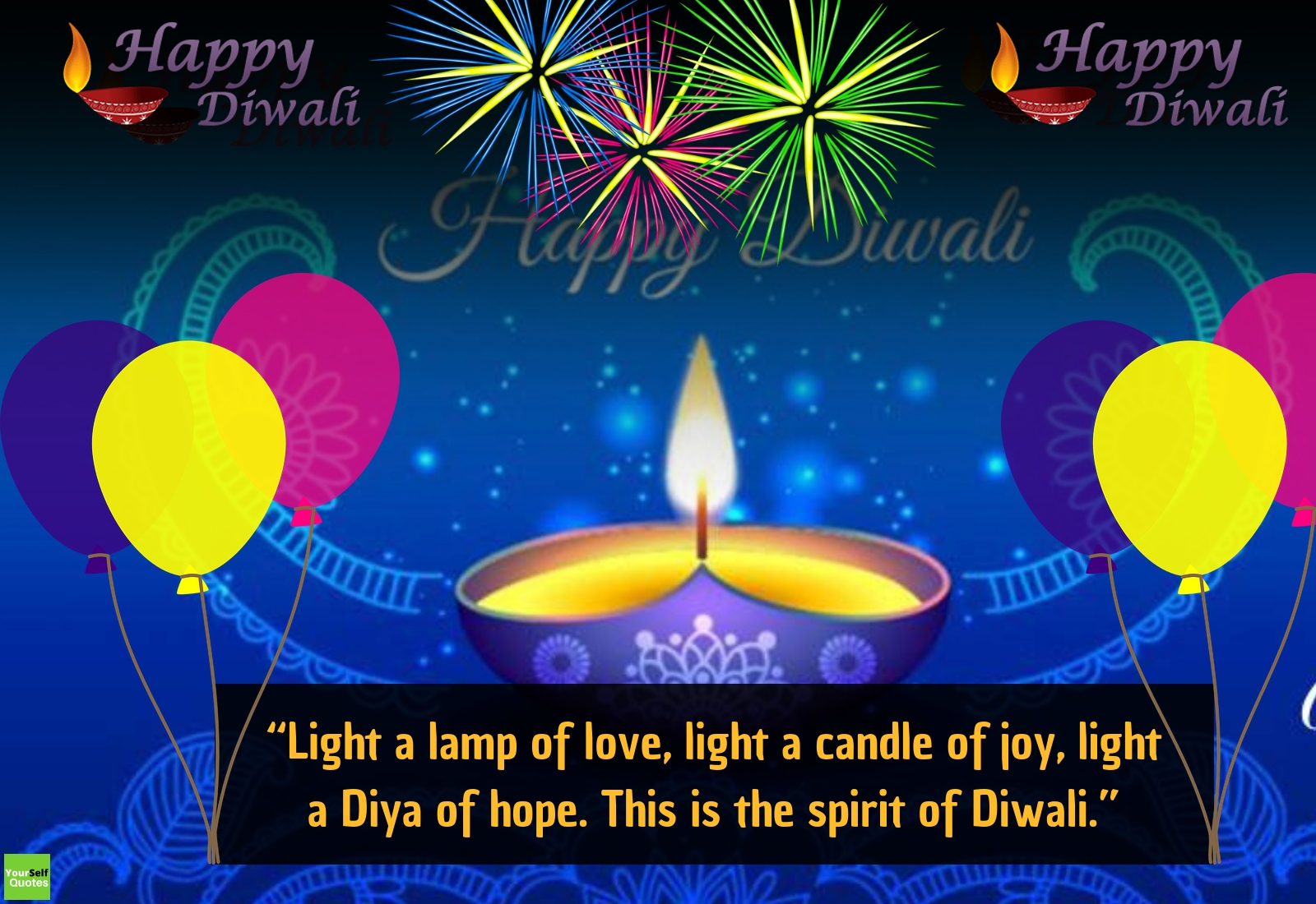 Diwali Light Quotes